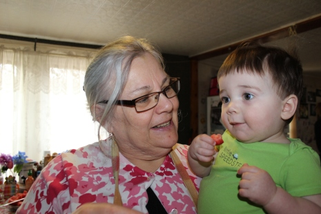 Grammy F and Liam