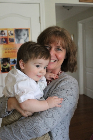 Liam and GREAT Aunt K