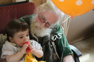 Grampy F and Liam