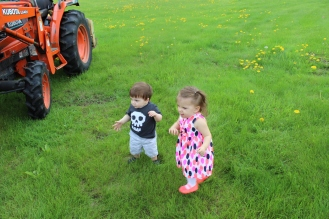 Running through grass is AMAZING!