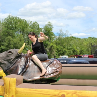 You can cross riding a mechanical bull off my bucket list